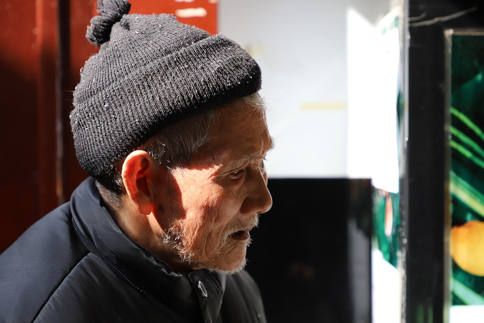 old chinese person